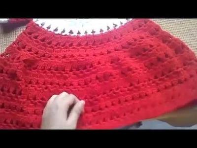 Easy crochet baby coat. frock for beginners tutorail,#11 part-1   Absolute beginners