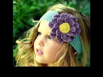 Easy crochet headband for beginners