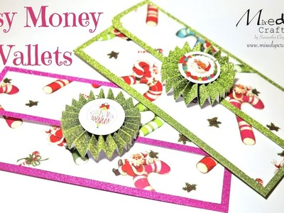 Easy Money Wallets.Envelopes   Video Tutorial