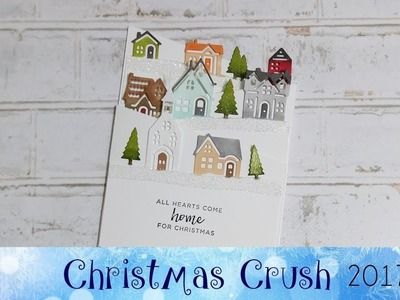 Hearts Come Home Z fold card featuring Stampin' Up!® Products