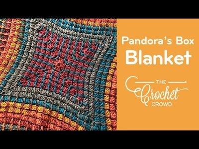 How to Crochet Pandora's Box Blanket: Left Handed