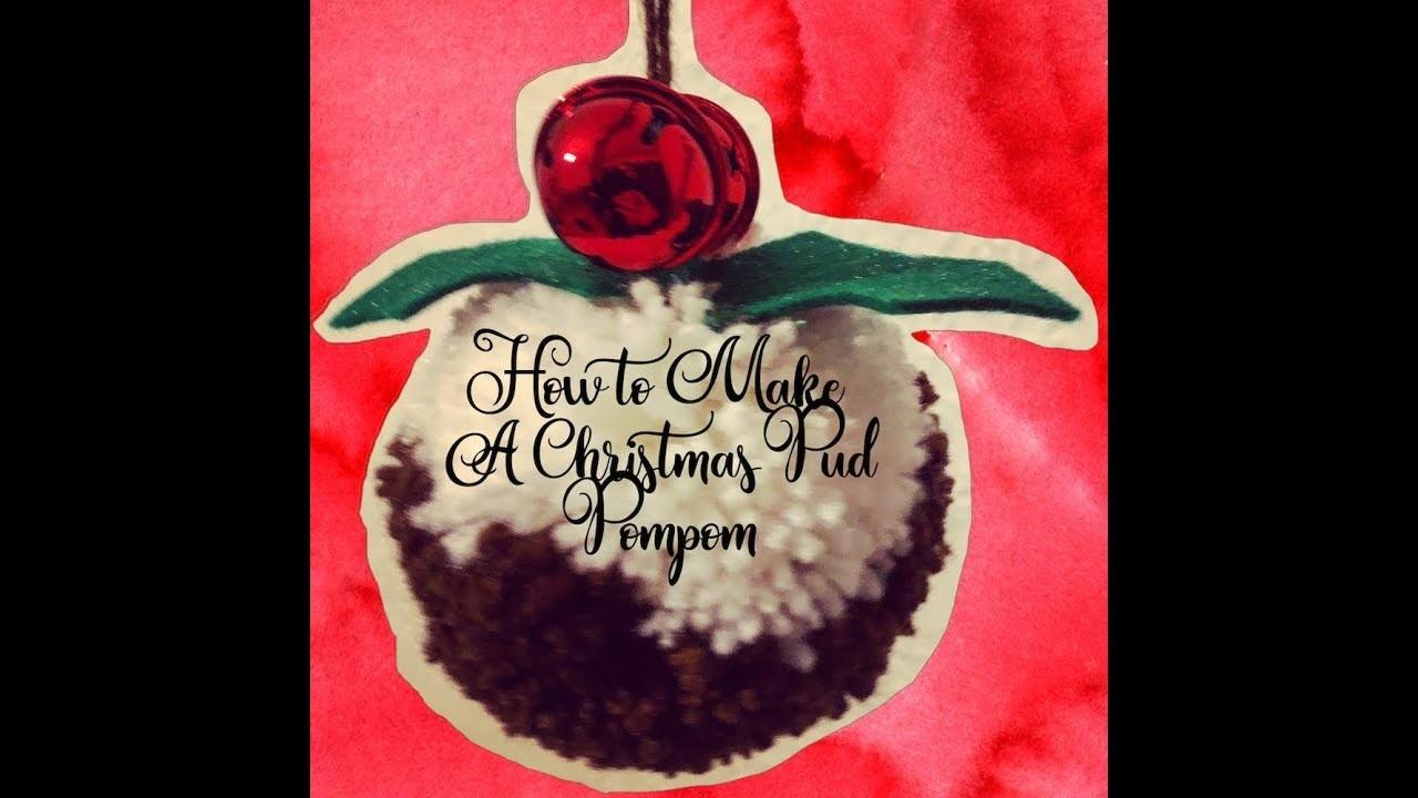 How to Make a Christmas Pud Pompom | Crafty Guide