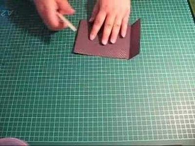 How to make a match book album