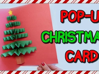 How To Make A Pop-Up Christmas Card | I Am Kristin????