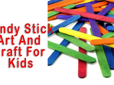 How TO Make Candy Stick Craft ,Simple Tricks Idea For Kids