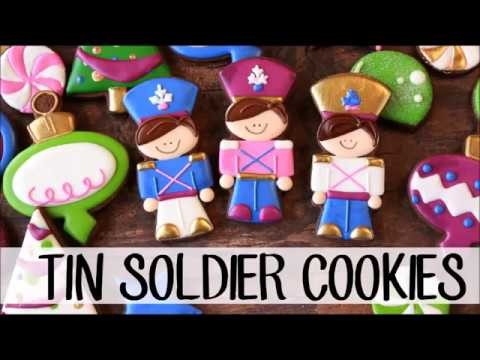 How to Make Decorated Tin Soldier Sugar Cookies