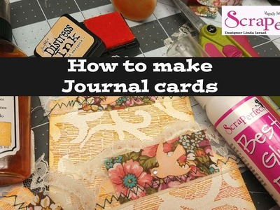 How to make Journal Cards