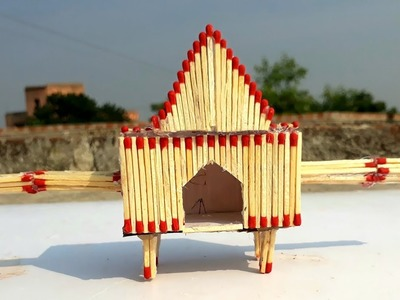 How to make matchstick doli,easy matchstick kids craft,matchstick wedding doli making.Diy for kids.