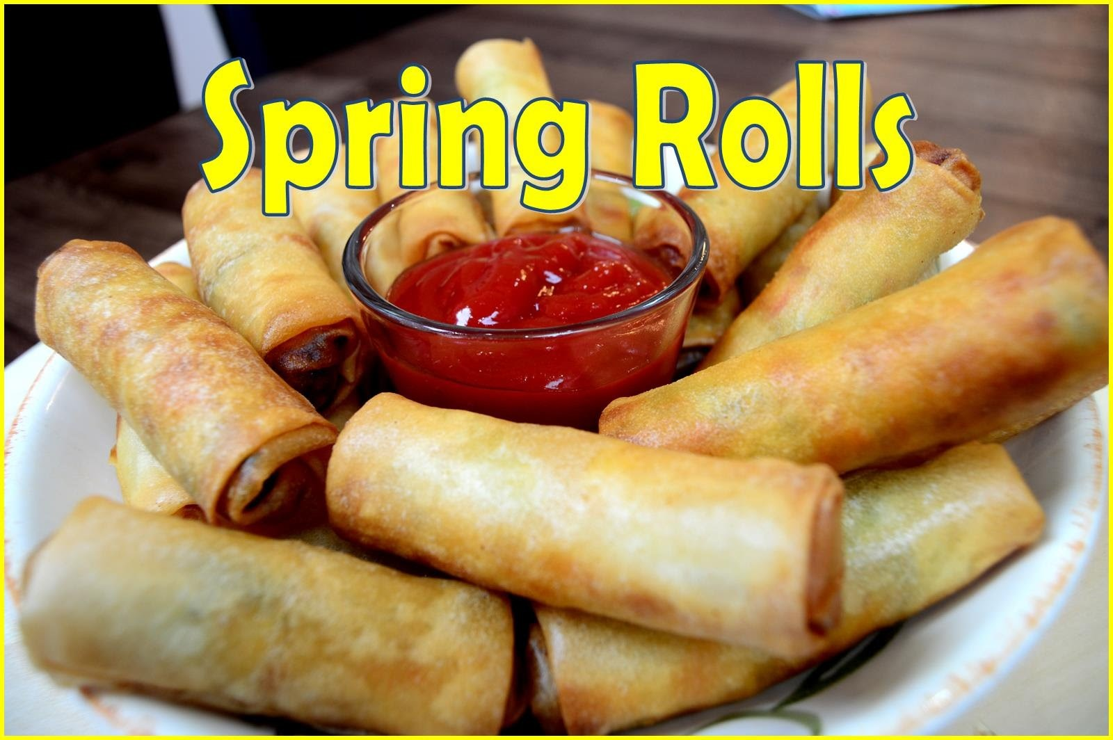 How to make Spring Rolls at home   Indian Cooking Recipes   Ramadan Recipes   Cook with Anisa