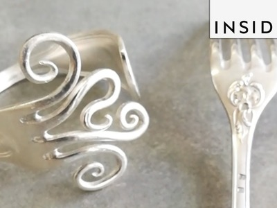 Jewelry Made From Recycled Forks