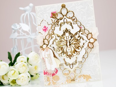 Miss You Very Much Card & Video Tutorial with Renaissance Jubilee Collection