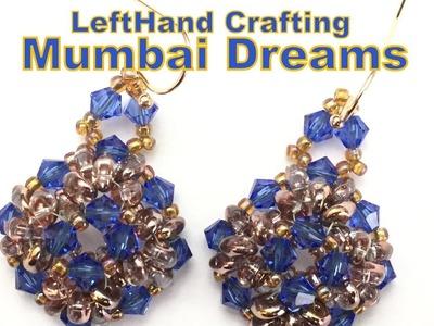 Mumbai Dreams Earrings- Beading Tutorial