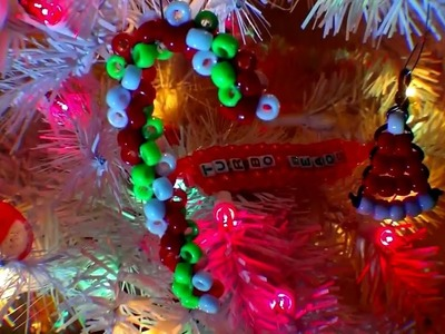 TurboBeads: Bead Santa Hat & 3d Candy Cane Tutorial [Collab w.Craft of Giving]