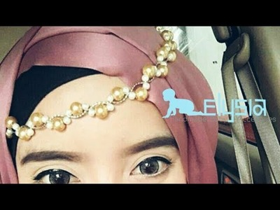 Unique Womens Jewelry | Pearl Crown & Simple Headchain - Headpiece | DIY By Elysia Handmade