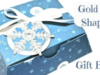 Unusual Ingot Shaped Gift Box | Video Tutorial