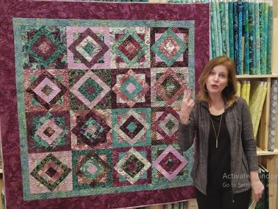A Real BREEZE to Make! Tropical Breeze Quilt :) + Giveaway!