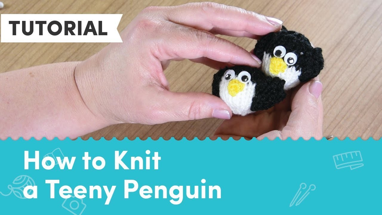 A Very Berry Christmas KAL - Teeny Penguin Knitting Tutorial
