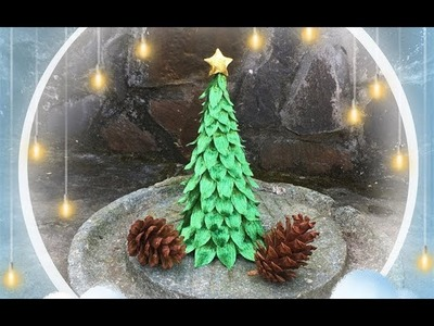 ABC TV | How To Make 3D Christmas Tree From Crepe Paper #1 - Craft Tutorial