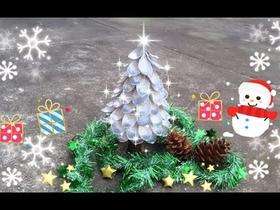 ABC TV   How To Make 3D Christmas Tree From Crepe Paper #2 - Craft Tutorial
