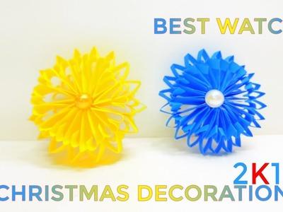 Christmas Decor Special | DIY Winter Room Decor Ideas | How To Decorate My Room | Lina's Craft Club