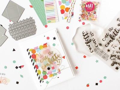 Cue The Confetti!  How To Create A Confetti Flinger Card