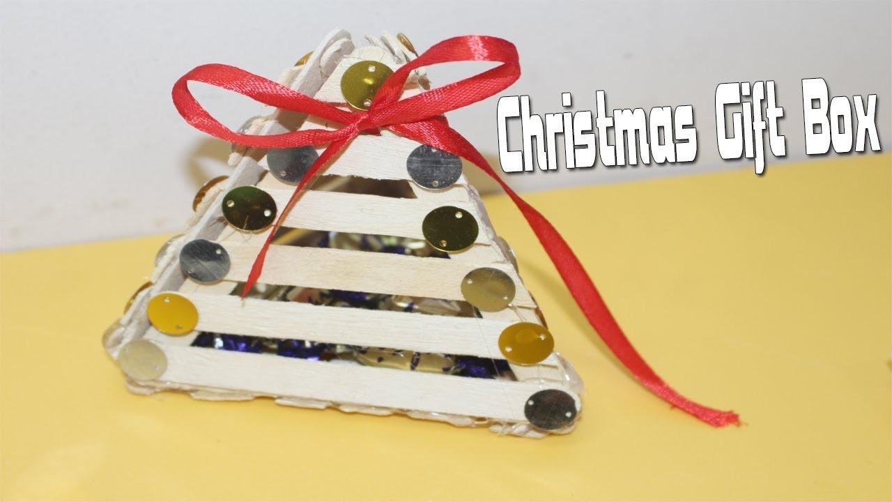 DIY Christmas Gift Box   How to make christmas gift box   Making of Christmas Gifts