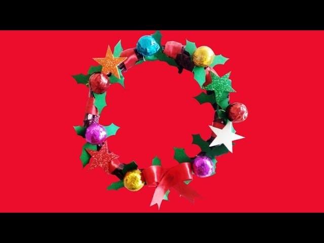 Diy Christmas Wreath How To Make Christmas Paper Wreath