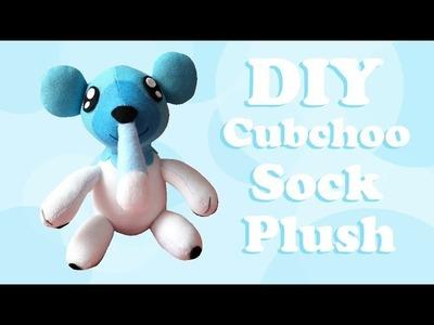 ❤ DIY Cubchoo Sock Plush! How To Make A Cute Pokemon Plushie! ❤