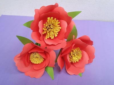 DIY- How to Make Easy and Awesome Paper Flower !!! Paper Flower Origami