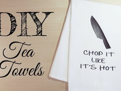 DIY Tea Towels with HTV   How to Download an SVG from Etsy   Cricut Christmas Gifts & Decorations