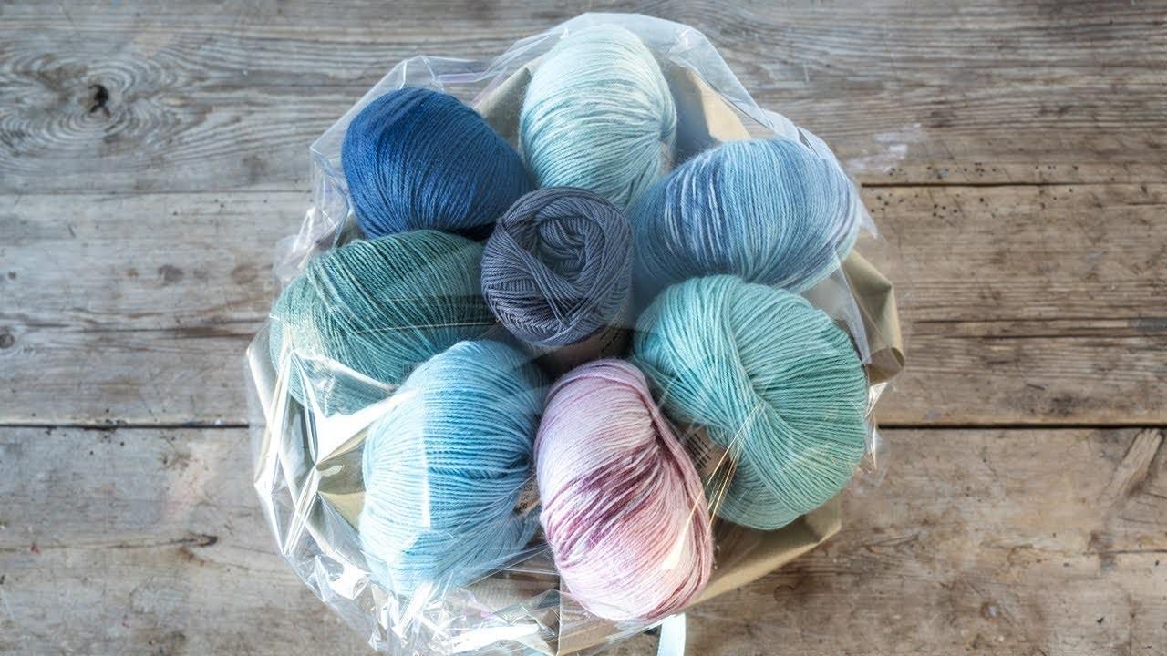 DIY : Yarn bouquet by Søstrene Grene
