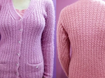 Easy Sweater Design - KNITTING ART [HINDI]