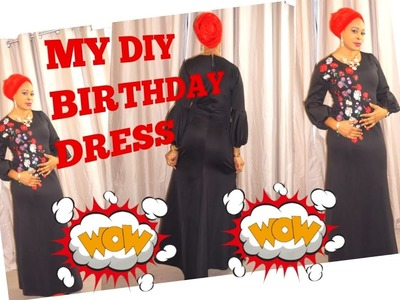 How I sew my birthday dress part 1