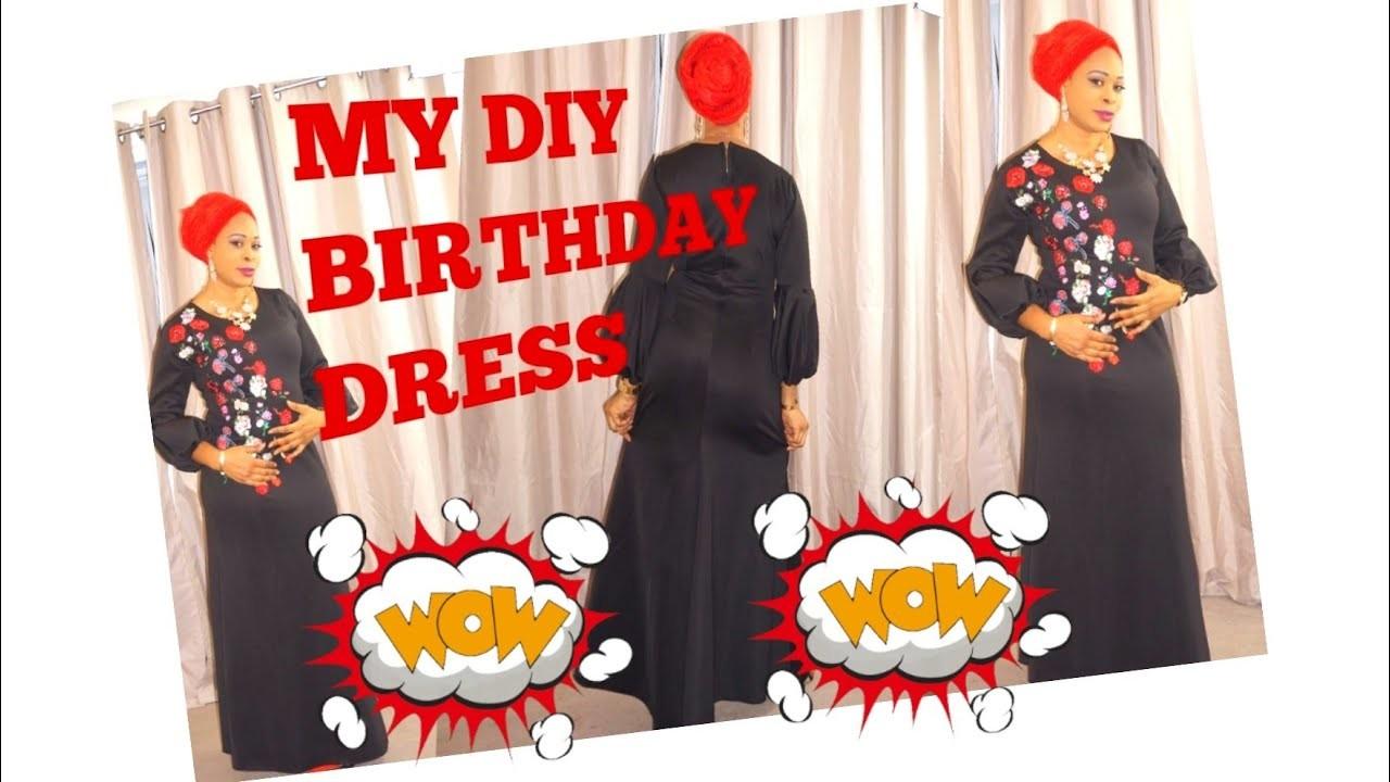 How I sew my birthday dress part 1