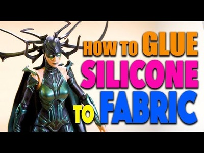 How To Glue Silicone To Fabric With Sil-Poxy