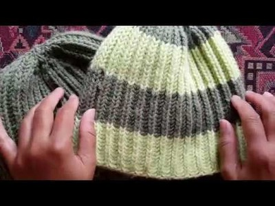 How to knit 1 color brioche hat: A Knittycat's Knits tutorial
