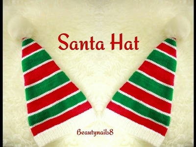 How To Knit Santa Hat For Beginners.