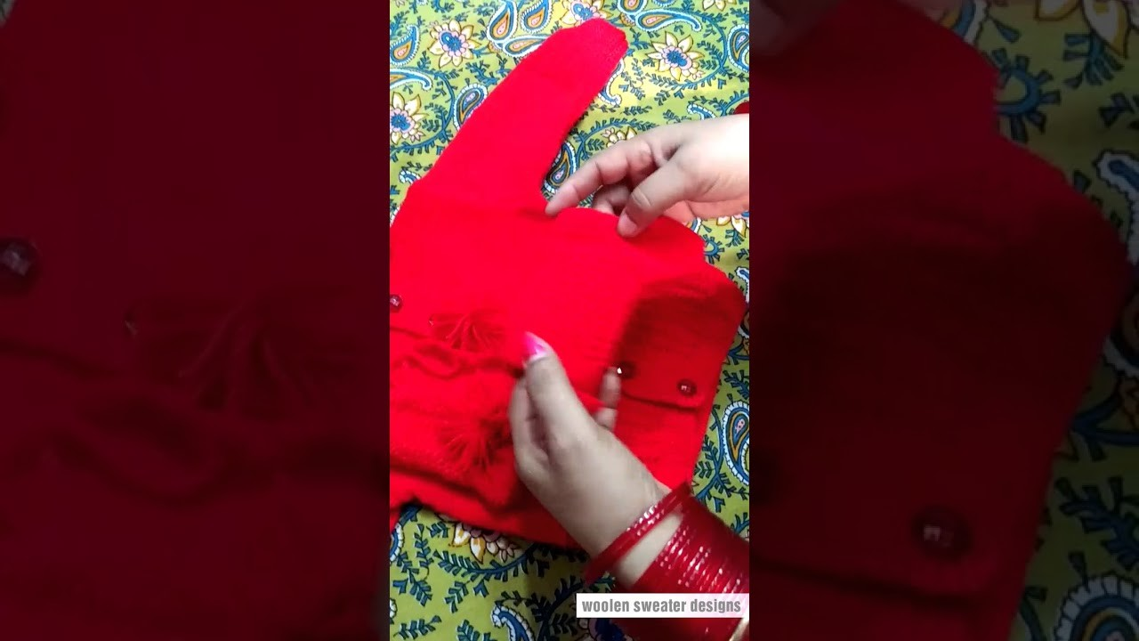 How to knit woolen socks for kids or baby in hindi | woolen sweater designs - sweater making