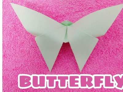 How to make a Butterfly | Easy orogami paper arts