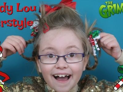 HOW TO MAKE A CINDY LOU WHO HAIRSTYLE TUTORIAL FOR THE GRINCH - GRINCHMAAS