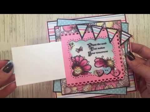 How to make a Magical Slider Card using our new slider dies