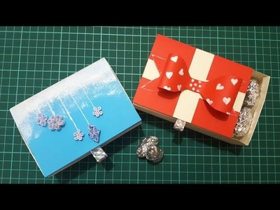 How to make a Matchbox Gift box