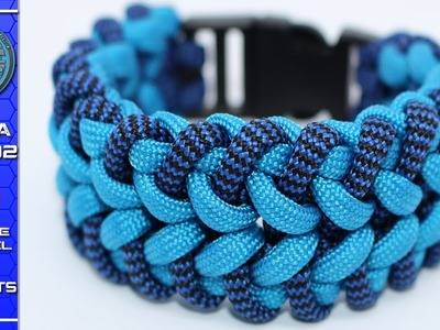 How to Make a Paracord Bracelet The Modified Turbine Blades Tutorial