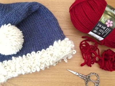 How to make a Pom with Chunky or Bulky Yarn.