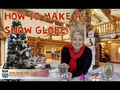 How to Make a Snow Globe | Easy Christmas Crafts for Kids | Best Christmas Gifts