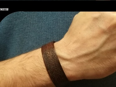 How To Make a wooden bracelet
