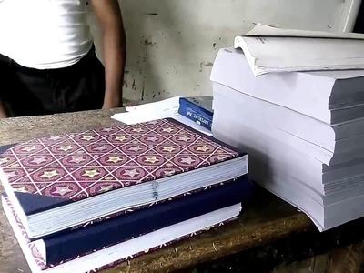How to Make Book Bindings | Book Bindings, Project Bindings