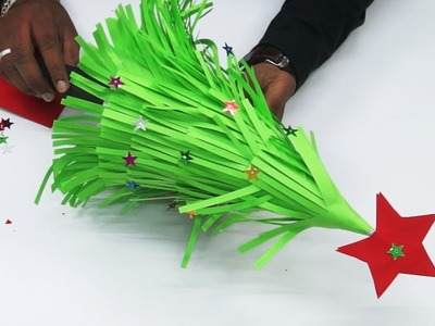 How to make Christmas tree by paper | Xmas tree by paper | Origami: Christmas Tree