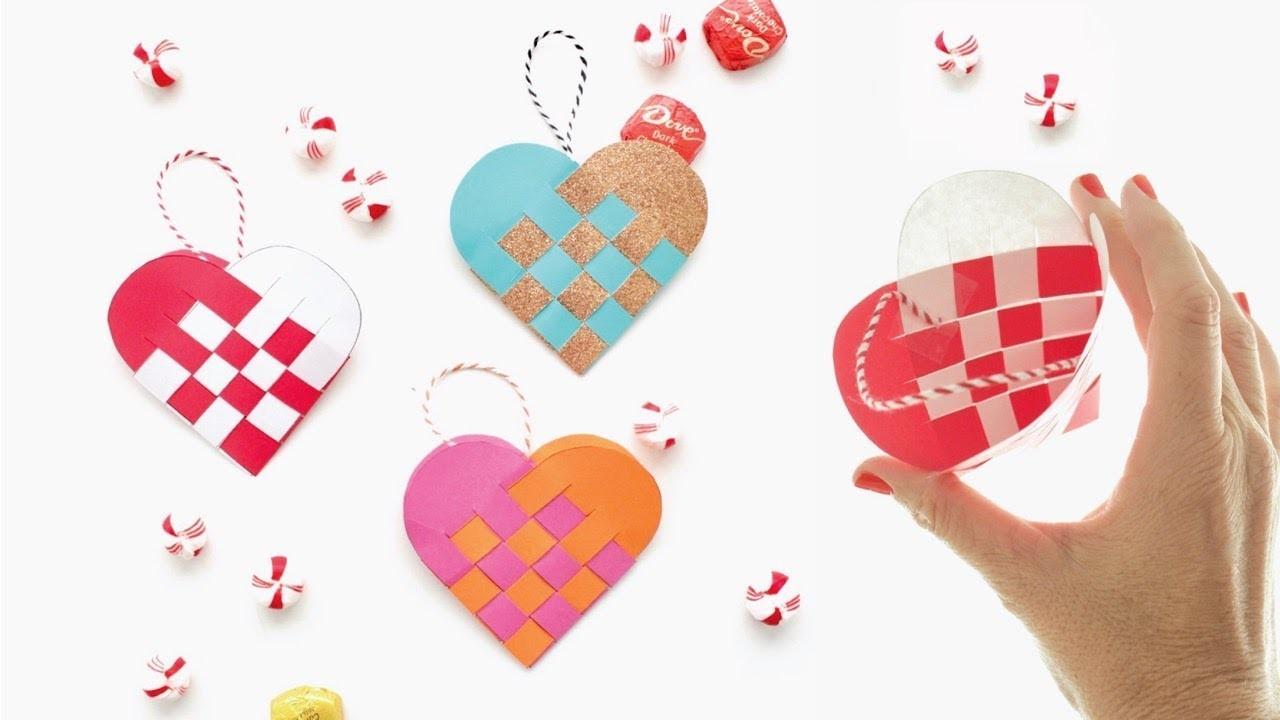 How to Make  Danish Heart Baskets