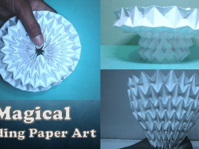 How to make Folding Paper Art {Origami}